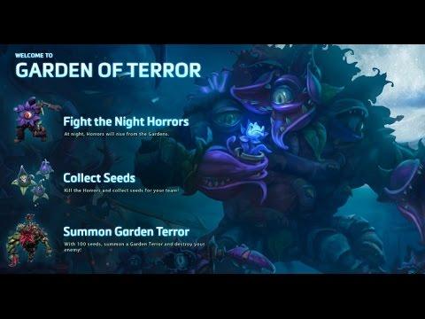 видео: heroes of the storm: Обзор карт: Сад Ужасов