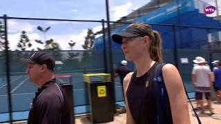 Maria Sharapova Extended Practice | 2020 Brisbane International