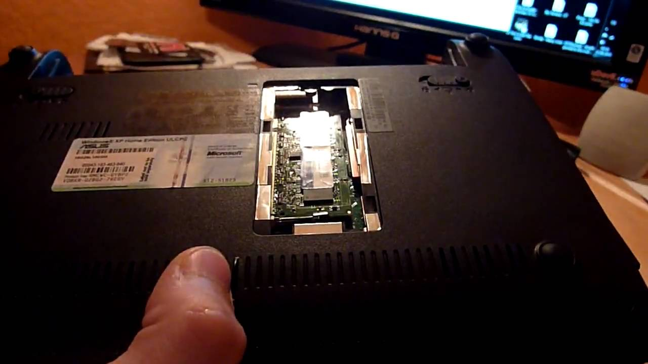 Asus Eee Pc 1001px Ram Upgrade And Hdd Changing Youtube