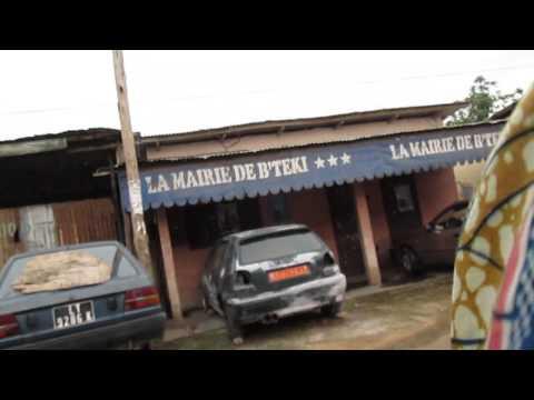 Moto ride through Douala