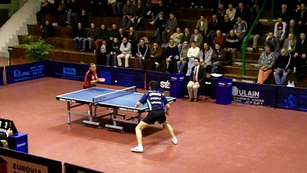Xinwang contre hou yingchao set 2 hennebont levallois - Stage tennis de table hennebont ...