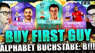 FIFA 16: BUY FIRST GUY (DEUTSCH) - FIFA 16 ULTIMATE TEAM - BUY FIRST GUY ALPHABET! BUCHSTABE: B!!!