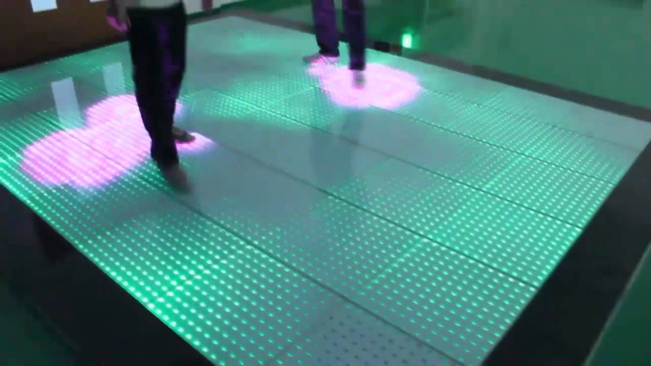 Seekway Led Interactive Dance Floor Ia06 Youtube