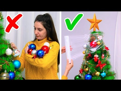 23 GENIUS CHRISTMAS TREE HACKS