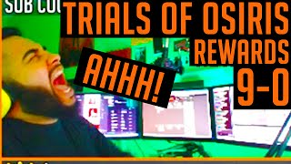 Destiny 9-0 Trials of Osiris Rewards - Flawless Trials Rewards/ Light house Rewards