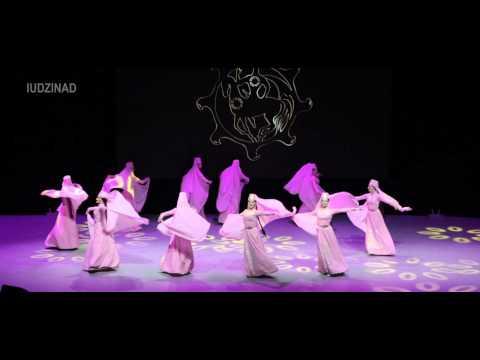 Девичий лирический танец. Ансамбль СИМД