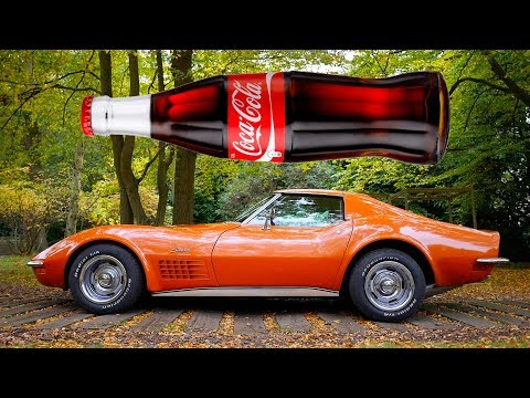 Was the CHEVROLET CORVETTE STINGRAY C3 inspired by a Coca-Cola bottle?