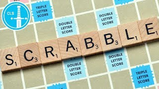 The Worst Scrabble Match Ever: Colin Moriarty vs. Chris Ray Gun -- Sacred Symbols Let's Play