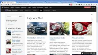 Drupal Bootstrap - 19 - Creating Article Views - Grid Layout