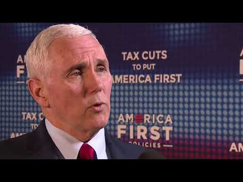 News 5 Exclusive: Vice President Mike Pence talks tax cuts, North Korea and tariffs with John Kosich