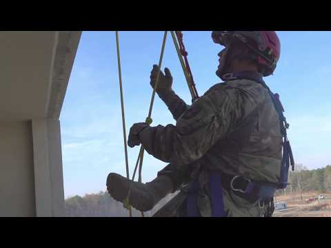 911th Tactical Rescue Engineer Company In Action