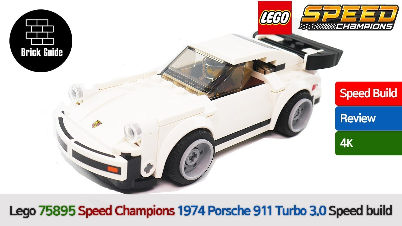 LEGO Speed Champions Porsche 911 RSR and 911 Turbo 3.0 75888 Building Kit 39...