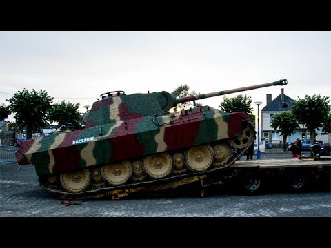 Panther Tank start-up and loading!!!!