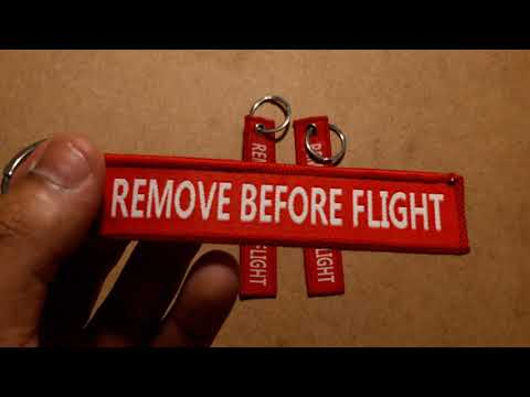 Chaveiro Remove Before Flight-AVIACÃO