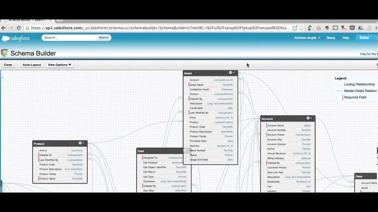 Salesforce Schema Builder Expander Demo