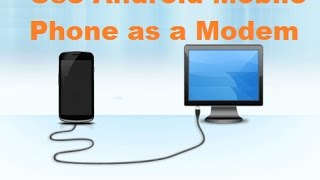 How to connect internet form mobile to computer without hotspot
