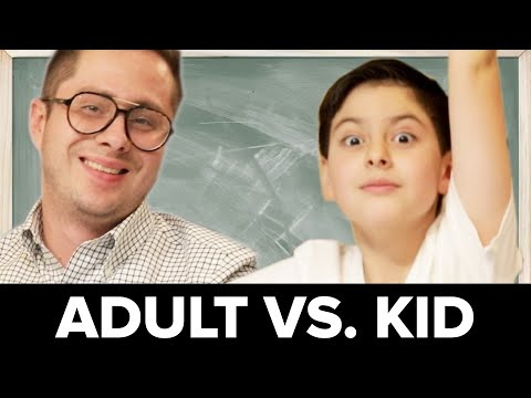 Adults Vs. Kids: Basic Math