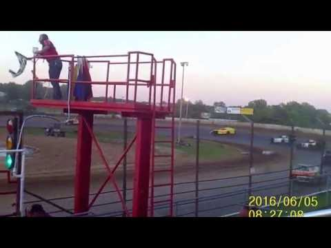 Lebanon Midway Speedway B Mod featur 6 5 16