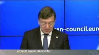 December 2012 European Council Day 2