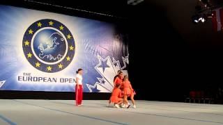 Открытый чемпионат Европы по черлидингу 2012. видео 10(, 2012-11-11T16:35:57.000Z)