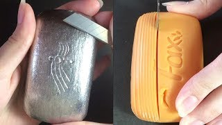 Soap Carving ASMR ! Relaxing Sounds ! (no talking) Satisfying ASMR Video | P37