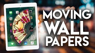 How to Get Free Moving Wallpapers iPhone/iPad