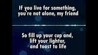 Ludacris- Rest Of My Life feat. Usher & David Guetta [OFFICIAL LYRICS]
