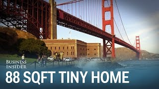 Gambar cover Take a tour of this stunning 100 year old 88 square foot tiny home in San Francisco