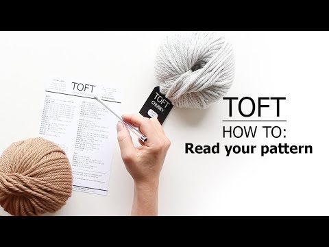 How To: Read Your Pattern   TOFT Crochet Lesson