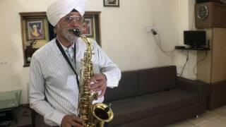 Mere Naina Sawan Bhadon / Saxophone Cover / Manjit Singh