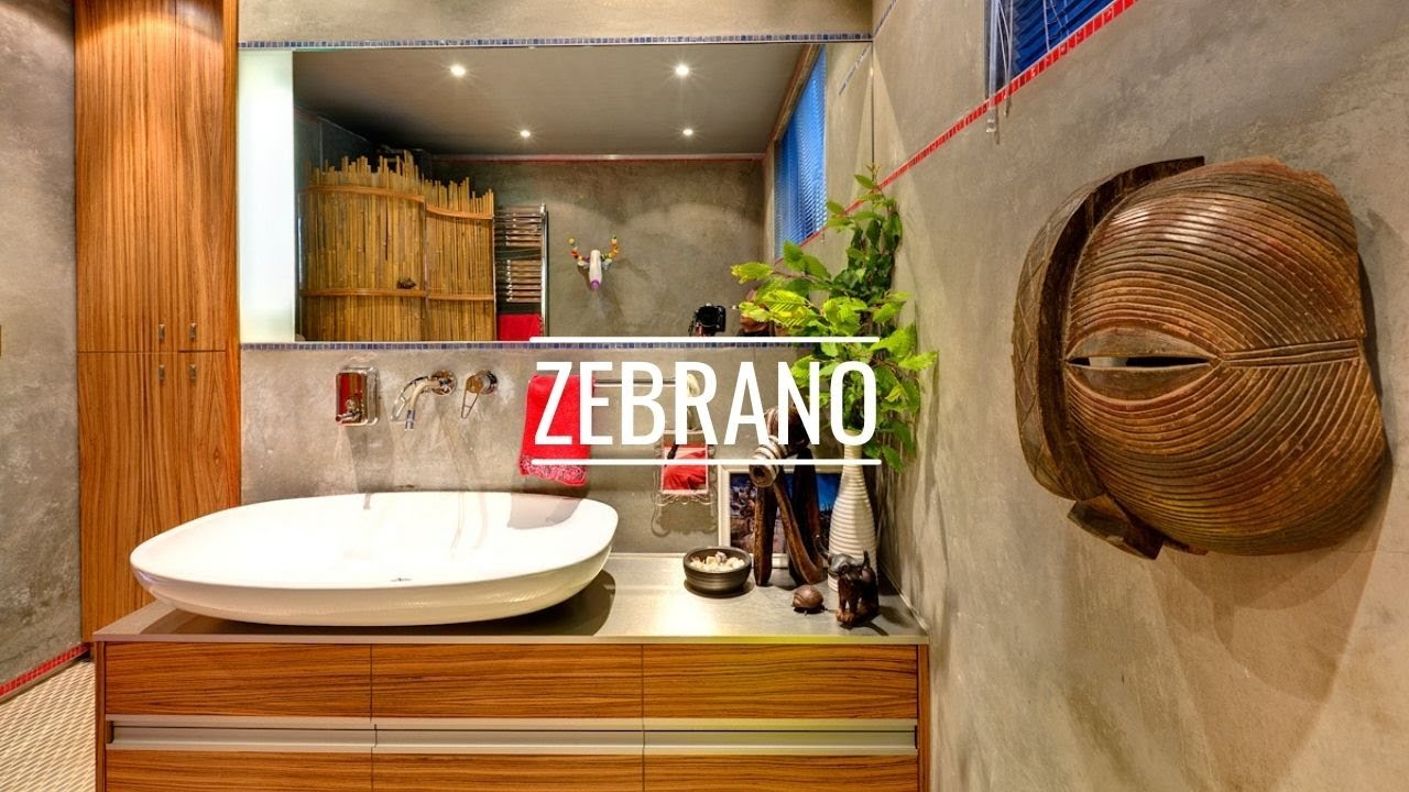 ZEBRANO IS STILL AN ATTRACTIVE WOOD FOR THE INTERIOR