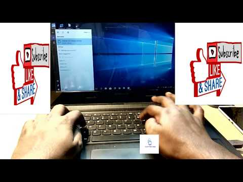 Touchpad Not Working In Windows 7/8/10 Laptops || Fix Unresponsive Touchpad Problem In Lenovo Laptop
