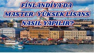 Finlandiya'da Master - Yüksek Lisans Nasıl Yapılır?