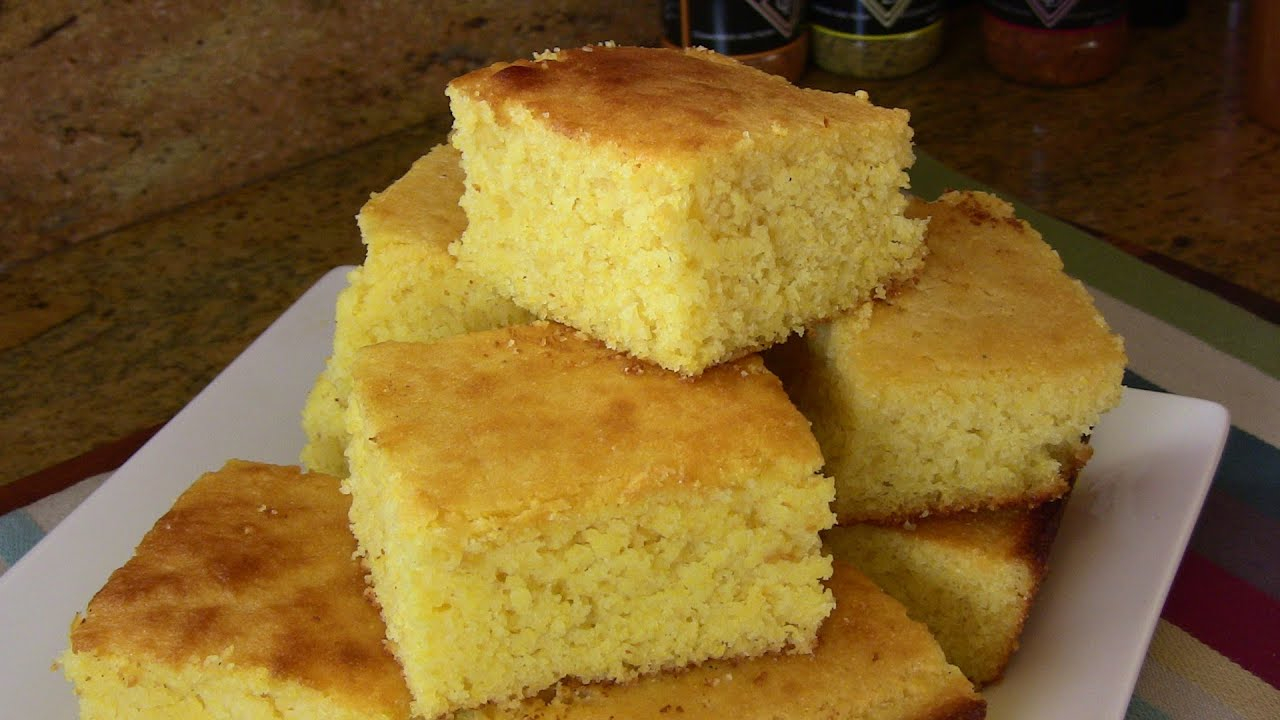 SWEET CORNBREAD- SUPER EASY RECIPE -HOLIDAY SERIES |Cooking With Carolyn