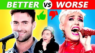 Singers Who Are Getting WORSE vs BETTER #2