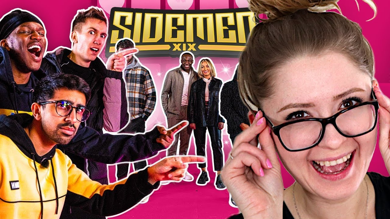 COUPLE REACTS TO SIDEMEN GUESS THE FAKE COUPLE
