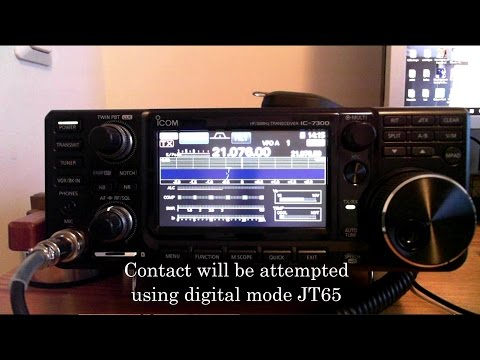 Two-Way Radio Contact Between The Antarctica and Finland