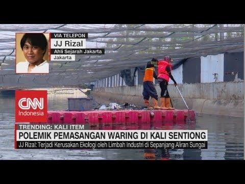 Polemik Kali Sentiong, Ahli Sejarah Jakarta: Masalah Kali Jakarta Sudah Terjadi Puluhan Tahun Lalu