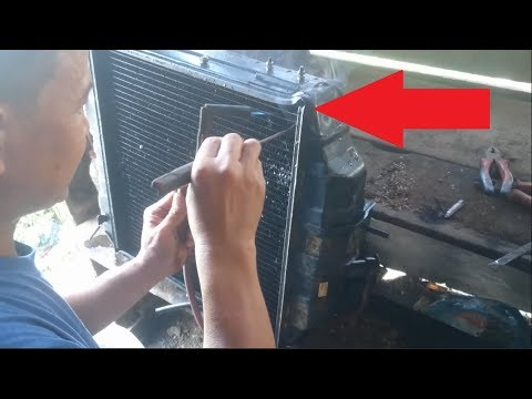 Cara Memperbaiki Radiator Bocor How To Fix A Leaking Radiator