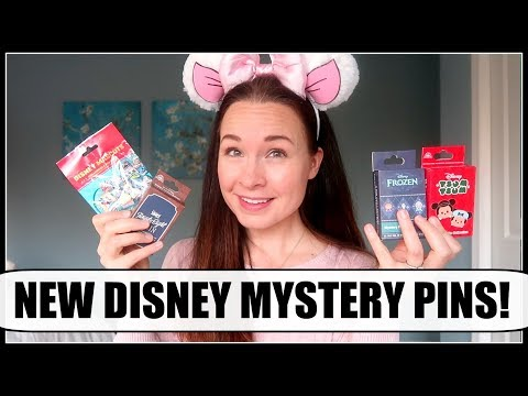 DISNEY MYSTERY PIN UNBOXING! New holiday sets & more! | November 2017