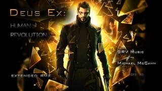Songs mixed By Michael McCann from the Deus Ex Human Revolution OST Icarus Main Theme Main Menu Opening Credits Detroit Marketplace