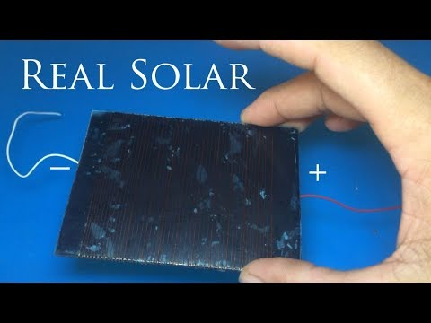 Free energy , Solar energy , How to make solar cell step by
