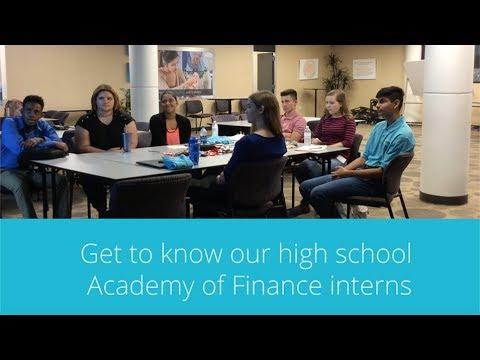 Summer 2017 Academy of Finance Interns