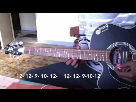 CHAINSMOKERS CLOSER   SINGLE STRING   GUITAR   Part ~2