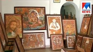Officials ignores direction to relocate mural art gallery office in Aranmula  | Manorama News