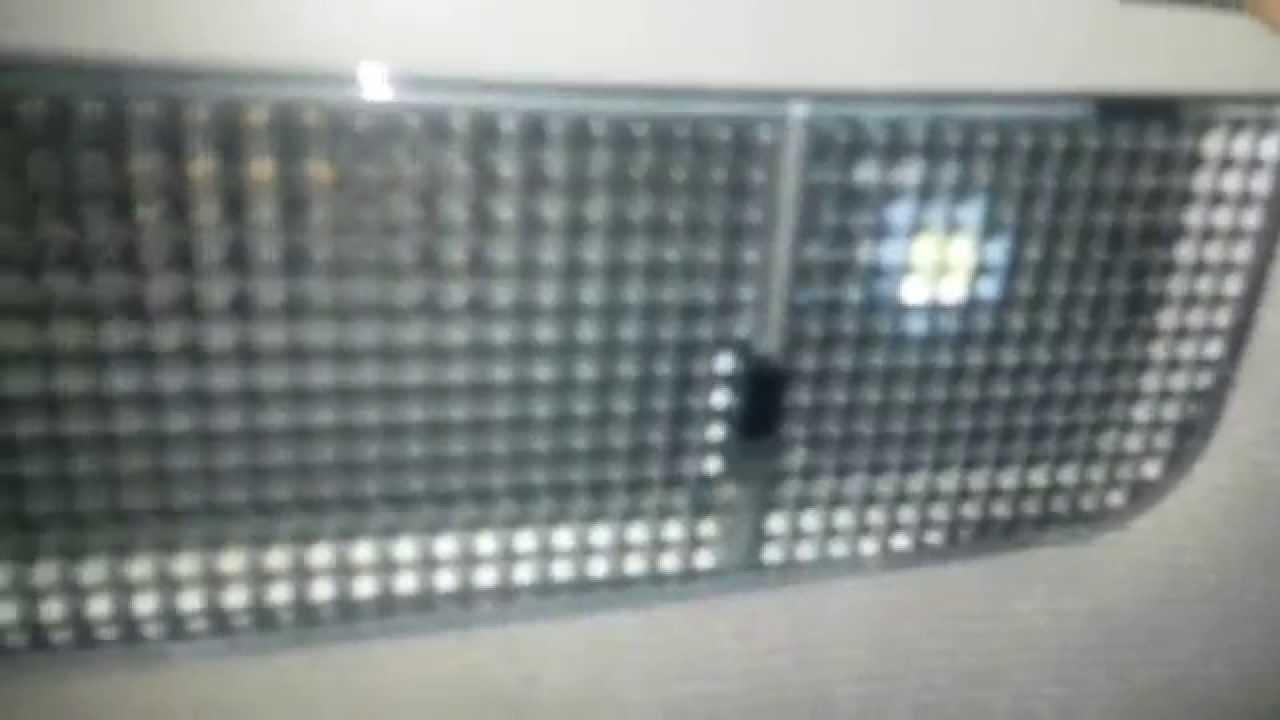golf mk4 interior lights problem help youtube