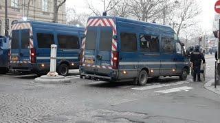 Paryż Protesty