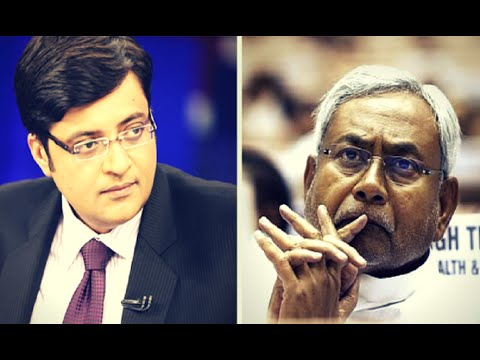 Nitish Kumar Interview With Arnab Goswami | Bihar Elections 2015 | Full Interview