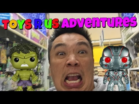 Toy Hunting - Toys R Us Adventures [TAGG Was Bored]