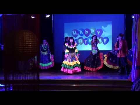 Elena's 50th Birthday Party Gypsy Dance